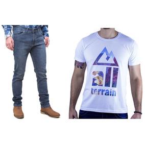 Kit Masculino Calça Stone Camisa Branca Atr All Terrain