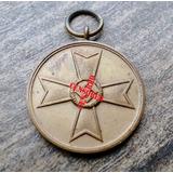 Medalha De Mérito De Guerra Nazista Com Suástica Original