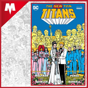 The New Teen Titans Vol 8 Tpb Dc Comics Inglés Nuevo