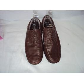 Sapato Social Masculino Marrom Oneself Tamanho 43