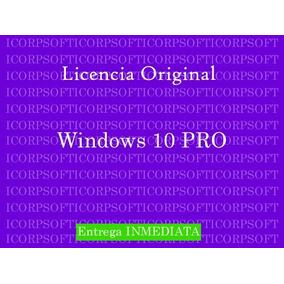 Windows 10 Professional Licencia Original 32 / 64 Bits