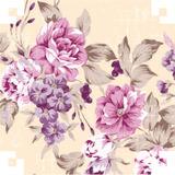 Papel Presente Bobina Couche 60cm. Floral V.m.p. 100 Mts