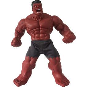 Boneco E Personagem Hulk Vermelho Revolution 50cm.