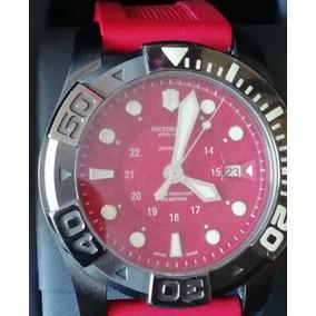 Reloj Victorinox Automático 241577 Para Hombre, Rojo
