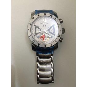 4693326ebea Bulgari Iron Man - Relógio Bvlgari Masculino no Mercado Livre Brasil