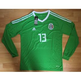 Formidable Jersey Portero Mexico Manga Larga 2019 Ochoa 13 bbe542a69fc3b