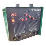 Máquina De Solda Tig Wse250 Inversora Ac/dc Aluminio Em Tig