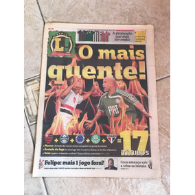 Jornal Lance Brasileirão Diego Souza Valdivia Kléber Felipe