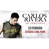 Entradas Carlos Rivera Luna Park 22 Febrero Envios