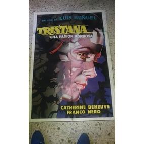 Luis Buñuel Y Catherine Deneuve Afiche Tristana, 1970
