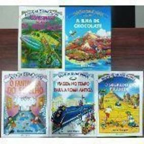Coleção Salve-se Quem Puder Lote Com 5 Livros Justin Somper