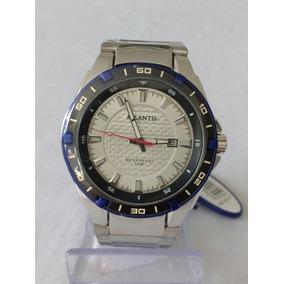 114ec521030 Relógio Prateado Masculino G-3163 Atlantis Style Original.