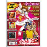 Comix Milênio 14 Revista Sakura Gorillaz Ninja Boy Resident