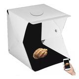 Caja Fotografia 40cm 5 Luces Regulables -cubo Fotos Trípode
