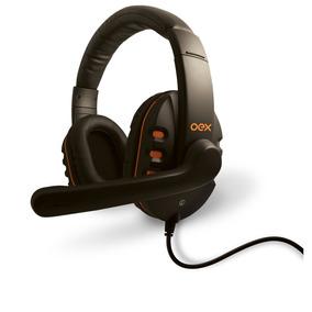 Headset Action Com Controlador De Volume P2 Hs200 Oex
