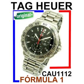 Moderno Tag Heuer Formula 1 Crono Aço-aço Black Cau1112 !