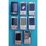 Lote Com 8 Celulares Nokia N95 (leia A Descrição)