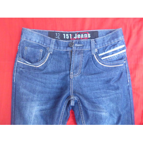 Pantalon Blue Jeans Nuevo Talla 32 Bota Ancha