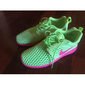 599141ae64c40 Nike Nike Roshe Run Verde Militar Para Salir En La Plata ...