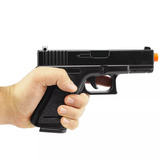Pistola Airsoft Glock G15 Full Metal 6mm - Spring
