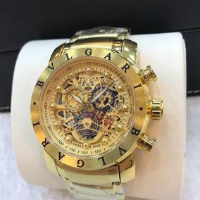 81aa975270d Relógio Masculino - Relógio Bvlgari Masculino no Mercado Livre Brasil