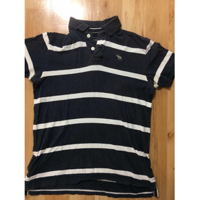Camisa Tipo Polo Abercrombie Azul Marino Talla Xl d46cdf5966ee7