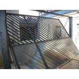 Super Projeto De Portao Basculante De Madeira Ferro Aluminio