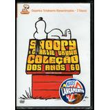 Snoopy & Charlie Brown Coleção Dos Anos 60 Box 2 Dvds - Novo