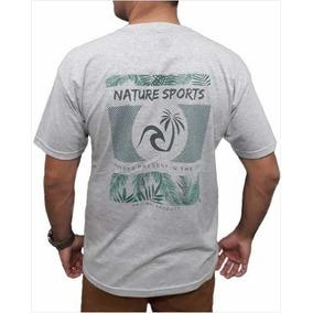 Camiseta Esporte Surf Camisa Original Algodão Top Qualidade 73df0dc0551
