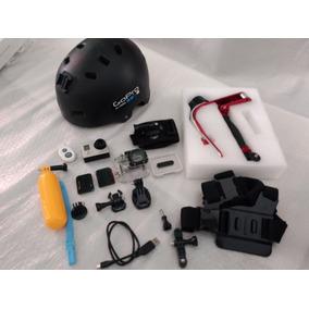 Câmera Gopro Hero 3 Silver Com Wifi / Kit De Acessórios
