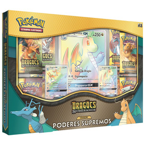 Jogo Pokémon - Box Poderes Supremos - Dragões Soberanos - Co