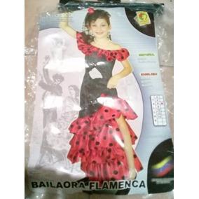 Disfraz Niña Bailaora Flamenco · Bs. 30.000 961bdc9ab25