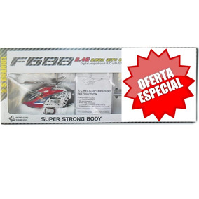 Helicoptero Pro Oferta - Rc F688 3.5 Channel