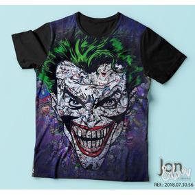 Camiseta Coringa Várias Estampas Frete Grátis - Camisetas Manga ... 1b802296e37