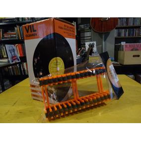 Kit Suporte P Lavagem + Escorredor Para Discos De Vinil