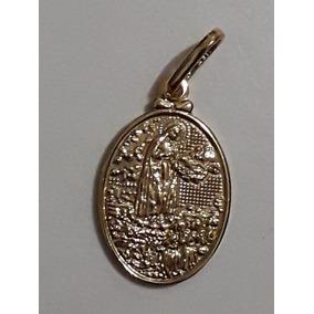 Pingente Nossa Senhora De Fatima Folheado - Joias e Relógios no ... f5801f9f8b