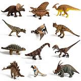 12 Piezas Grandes Dinosaurios Surtidos Altamente Detallados