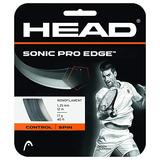 Head Sonic Pro Edge 16g Tennis Strings Antracite