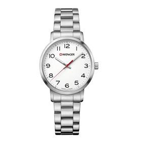 Relógio Social Feminino Suíço Wenger Avenue Lady 01.1621.104