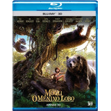 Filme Mogli O Menino Lobo - Dvd Blu-ray 3d Com Frete Gratis