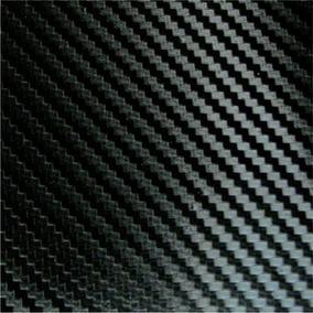 Adesivo Fibra De Carbono 200x 60cm Envelopamento Moldável