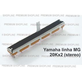 Potenciômetro 60mm 20k Stereo Para Mesas Yamaha Linha Mg