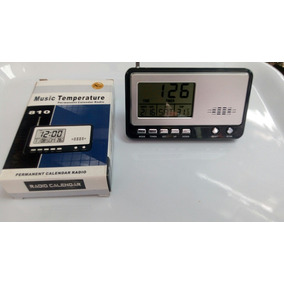 Radio Despertador Fechador Termómetro