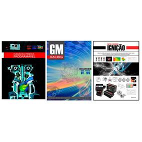 Pacote Com 3 Livros - Injeção + Ignição + Gm Racing