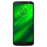 Moto G6 Plus Índigo Motorola 64gb Xt1926-7 + Brindes S/fone