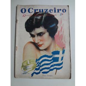 Revista O Cruzeiro Setembro De 1930 Miss Europa