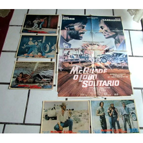 Cartaz Orig Mcquade Lobo Solitario Chuck Norris Carradine