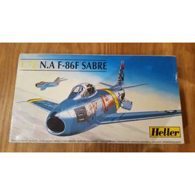 Avión N.a F-86f Sabre, 1.72, Heller