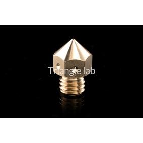 Frete Grátis - Bico Nozzle Mk8 0.4mm 1.75mm Bronze Dforce 3d