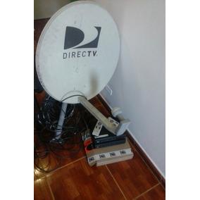 Antena Directv Con Decodificadores Cable Y Control
